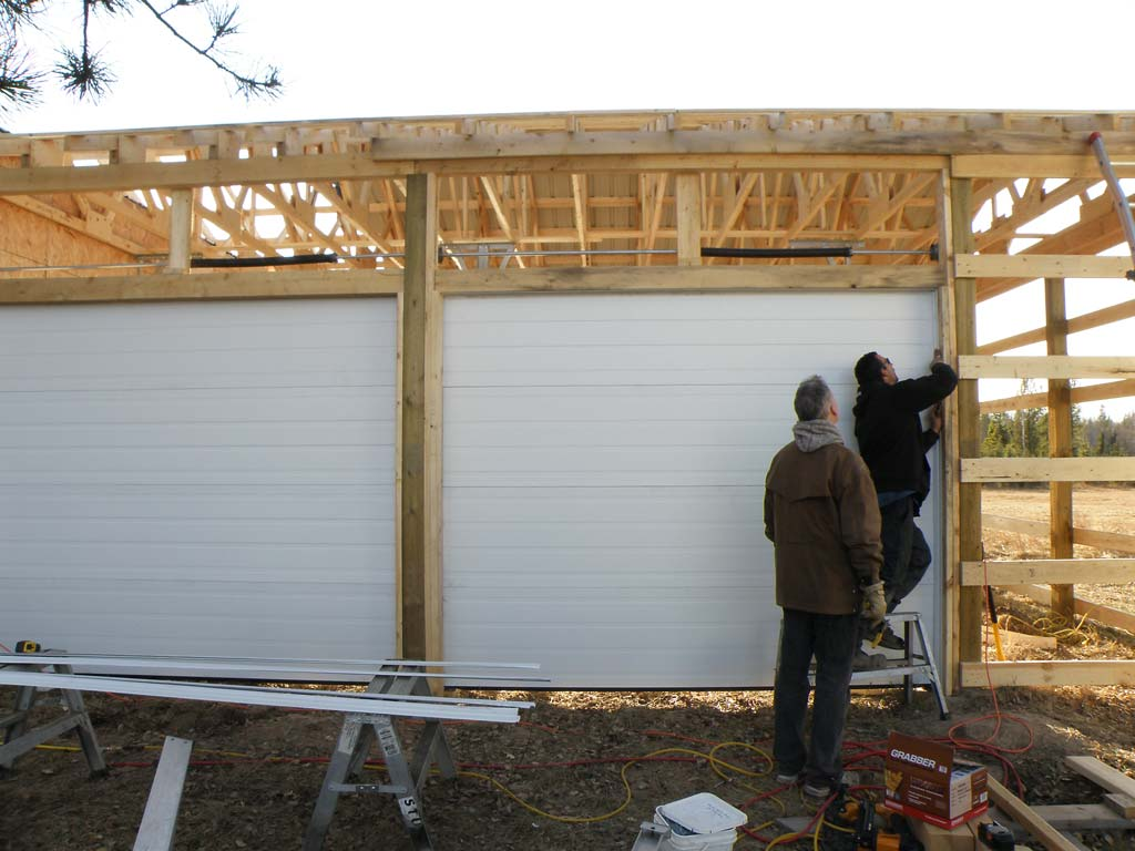 New Garage under construction