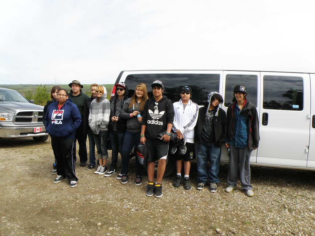 Students Attending Native Youth Conference