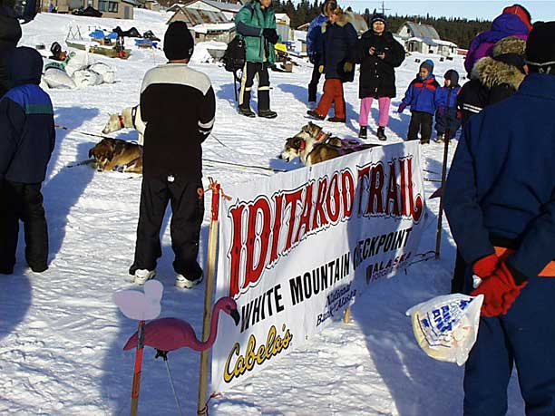Iditarod Check Point